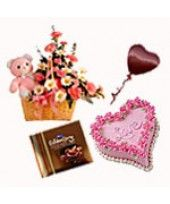 Tender #Love:    Buy this sweet #gifts for your lovable person and send it via FlowerznCakez, #India at reasonable price...