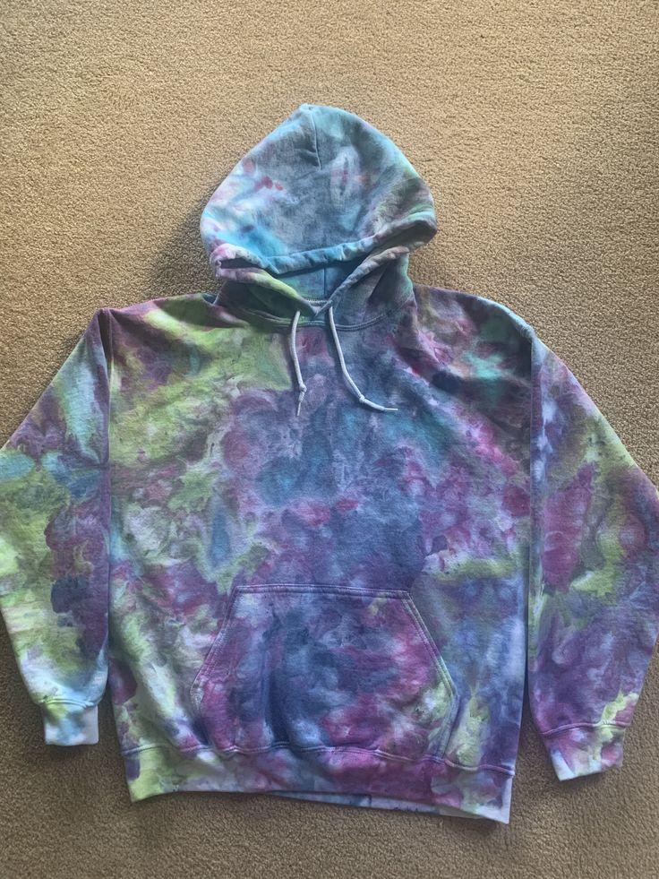 how to tie dye sweatshirt patterns