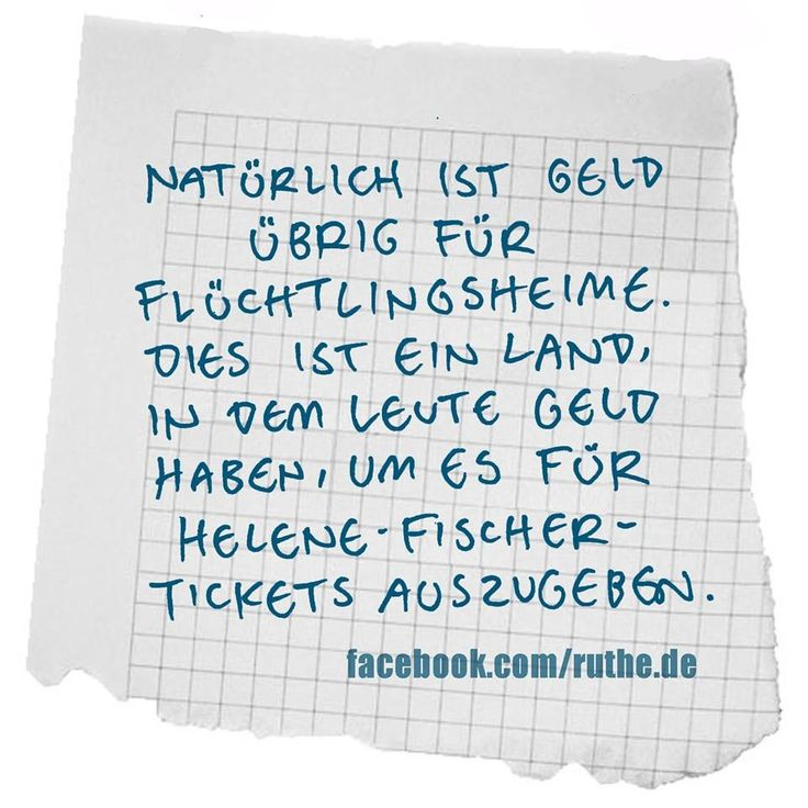 #flüchtlingsheime vs. helene-fischer-konzertkarten