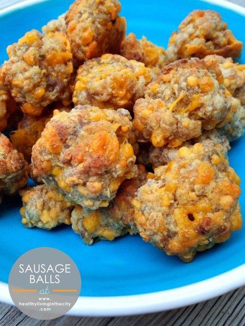 Bisquick Sausage Balls