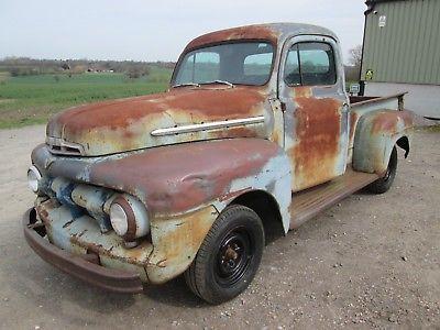 ebay 1951 ford f1 v8 pickup truck many new parts great patina 51 Ford Rat Rod ebay 1951 ford f1 v8 pickup truck many new parts great patina hot rat rod usa car