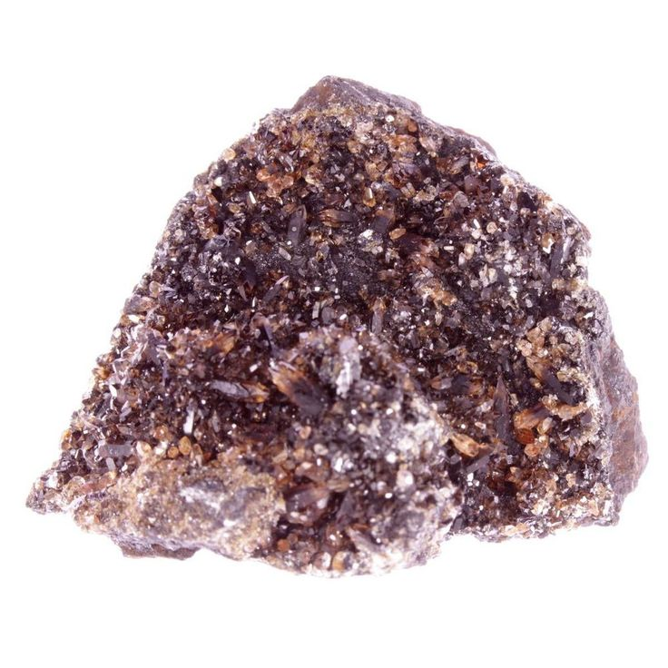 Rhodochrosite crystals on matrix from Kalahari Manganese Fields, SA (kal33-9)
