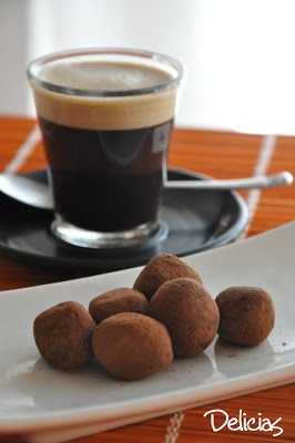 Delicias desde Barcelona a Buenos Aires: Trufas de chocolate y Baileys