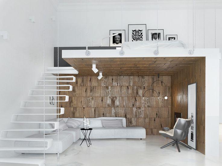 Minimlist studio loft