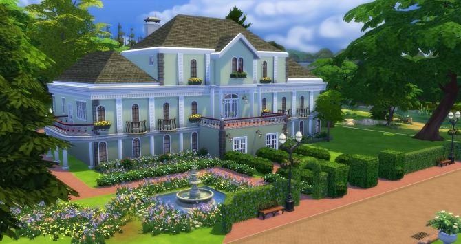 Mejores 67 im genes de sims 4 houses en pinterest the for Sims 2 mansiones y jardines