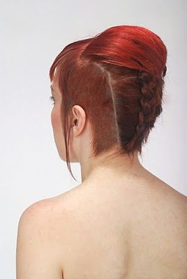 Good Hair Days - Tips, Tricks, How To's & Shoots: How To - Style - (Shaved Sides Ok)