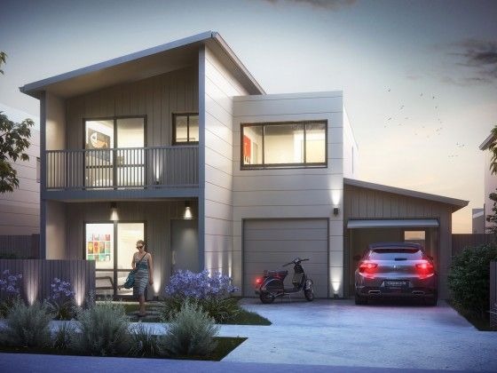 Yeoman Homes.  2 storey home Flagstaff. New home builder in Hamilton NZ. Ridgedale subdivision