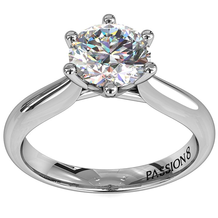 """Passion8 """"Hearts and Arrows"""" Diamond Engagement for one lucky couple this Valentines Day."""
