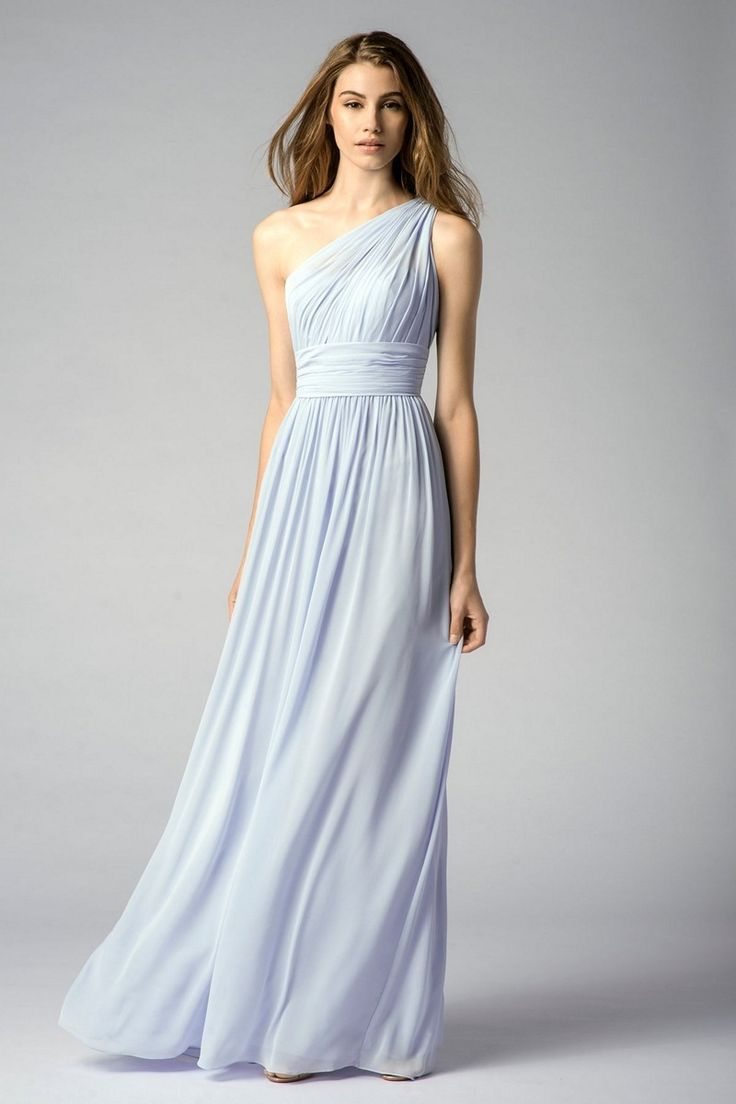 grecian bridesmaid dress