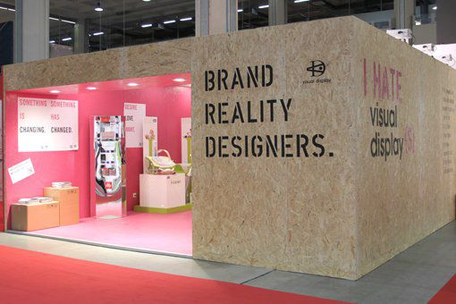 VISUAL STAND Trade Show Booth Design #tradeshow #exhibition #architecture