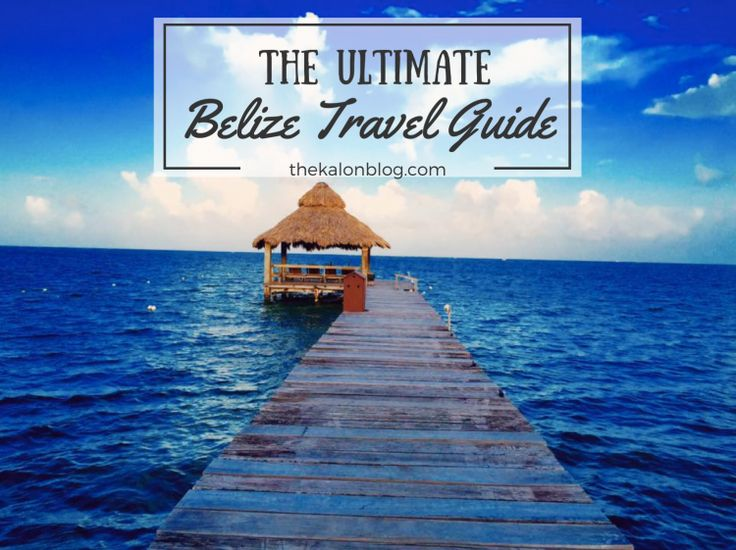 The ULTIMATE Belize Travel Guide! Things to do + travel tips for Ambergris Caye/Caye Caulker and San Ignacio, Belize!