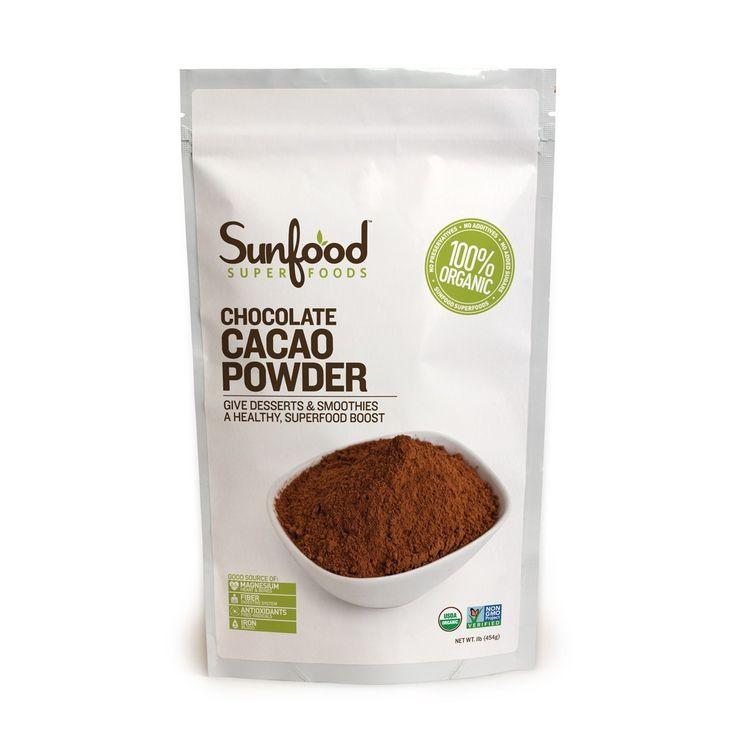 12g (4 heaped tsp) Cacoa Powder