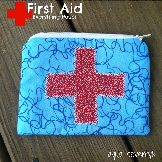 First aid pouch (epipen, insulin, medicine, bandages, etc