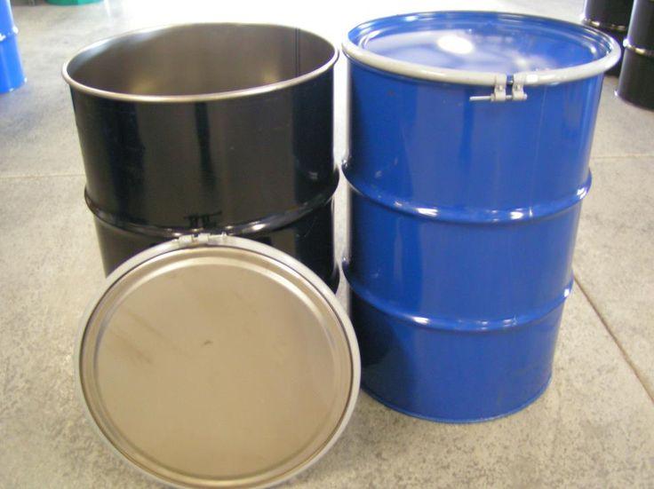 17 best ideas about 55 gallon steel drum on pinterest for Metal 55 gallon drum