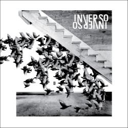 Artwork for the freejazz duo INVERSO, released by Floating Forest Records #freejazz #album artwork #albumartwork #andreabuzzi