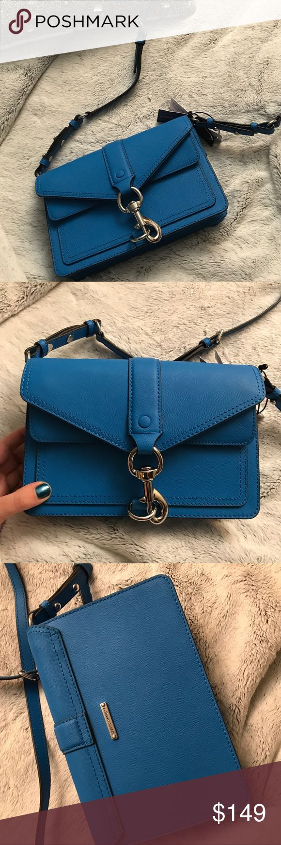 SALE: NWT Rebecca Minkoff Crossbody Bag $275 originally. Gorgeous brand new cobalt blue bag! Guaranteed authentic. Rebecca Minkoff Bags Crossbody Bags