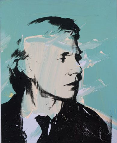 Andy Warhol: Self-portrait, 1972.