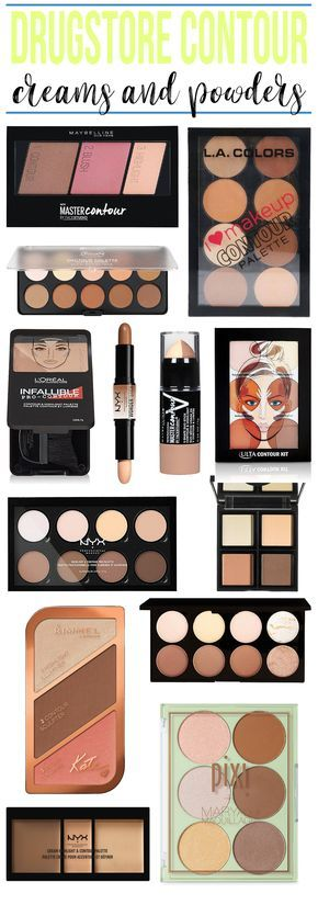 BOOKMARK THIS! The BEST Drugstore Contour products!