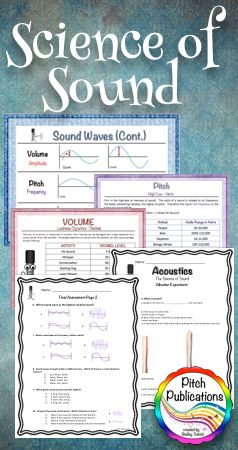 WOW!  This science of sound unit lesson is awesome and would work for both the elementary classroom and the music classroom!  I can't believe everything that is included!  #elmused