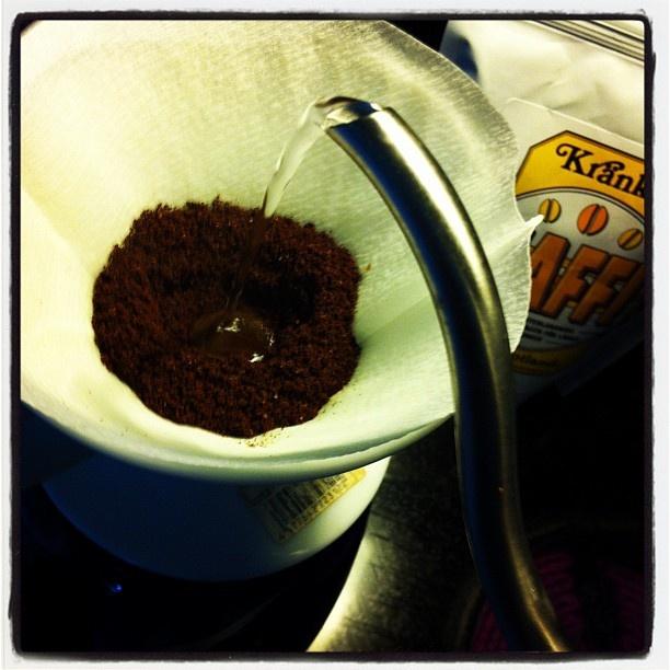 Då blir det Kaffi från @kraenku som eftermiddagskaffe!