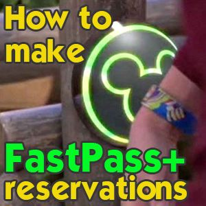 How to make FastPass+ reservations and order MagicBands - which rides to pick, how to tour, video showing how the website works