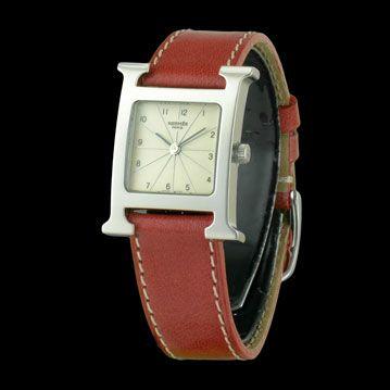 HERMES - Heure H PM, cresus montres de luxe d'occasion, http://www.cresus.fr/montres/montre-occasion-hermes-heure_h_pm,r2,p23183.html