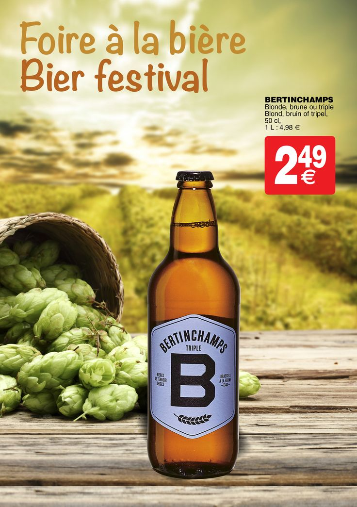 Bertinchamps - Blonde, brune ou triple