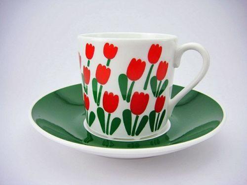 Rörstrand Sweden Juliana Coffee Cup Saucer by STIG Lindberg | eBay