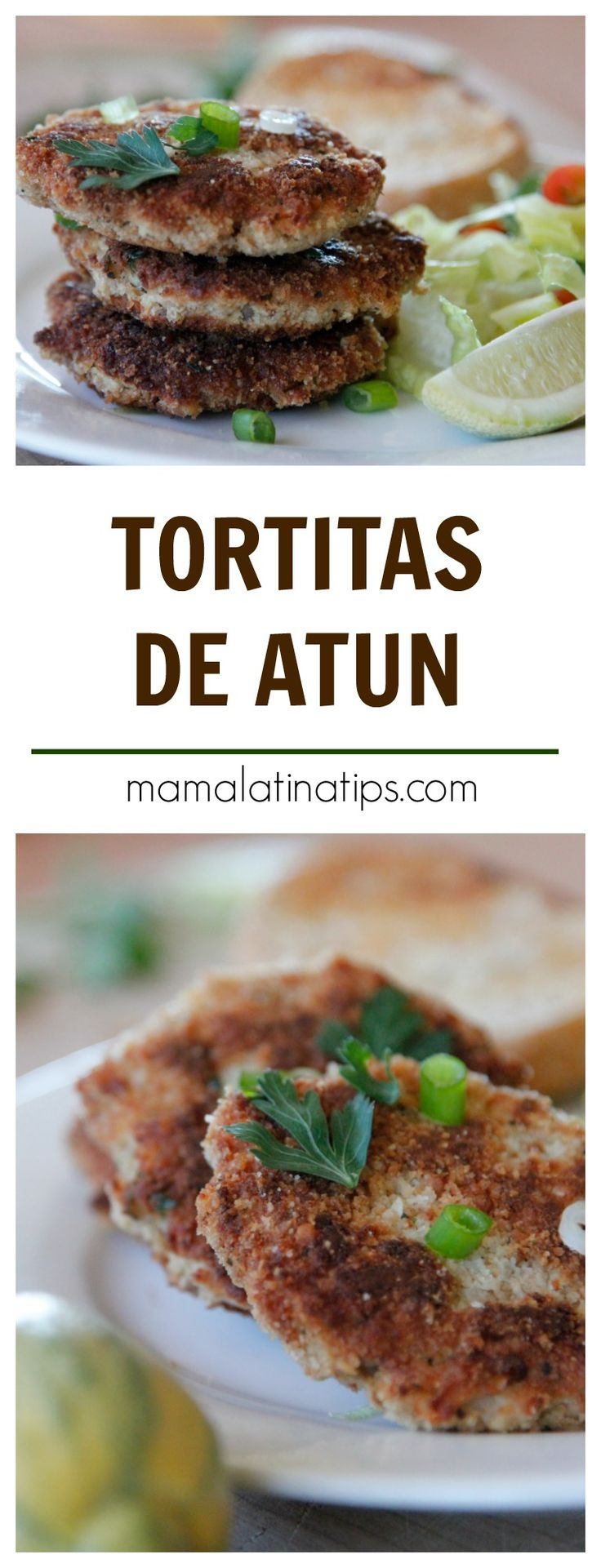 Easy, fast, tuna patties with potatoes perfect for lent or any time of the year. The way we made them in Mexico. Gourmet Recipes, Healthy Dinner Recipes, Mexican Food Recipes, Healthy Snacks, Cooking Recipes, Recipes For Lent, Healthy Life, Tuna Patties, Healthy Cheesecake