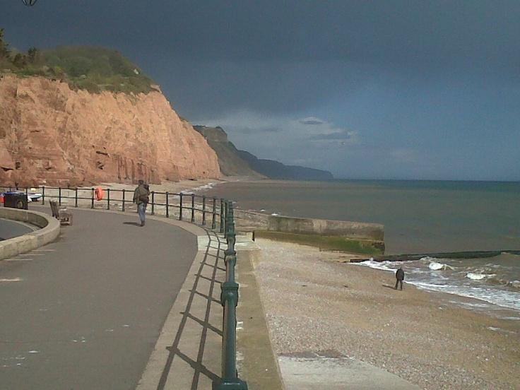 Sidmouth promenade, East Devon
