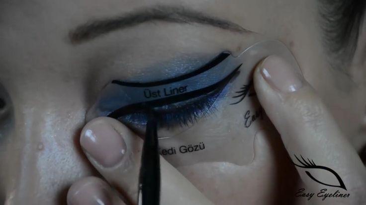 Kolay eyeliner  #eyeliner  #kolayeyeliner #makyaj #makeup