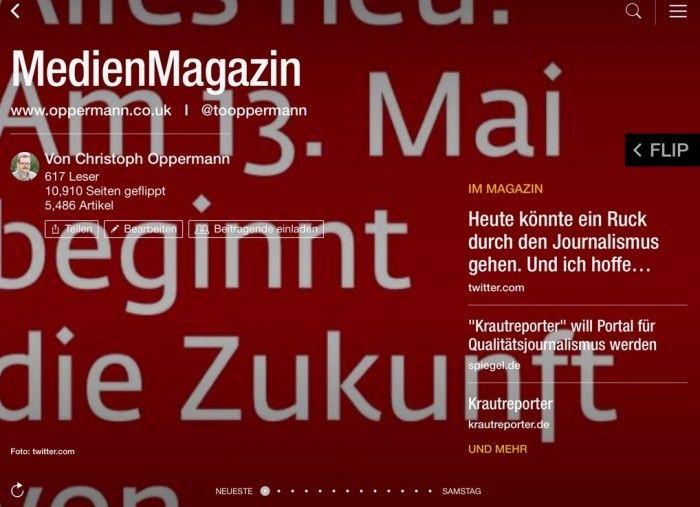 Im MedienMagazin: Das Krautreporter-Projekt
