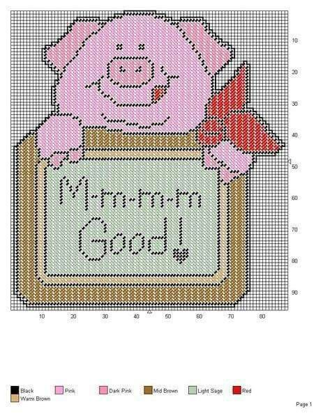13 Best Pigs Pc Images On Pinterest Plastic Canvas