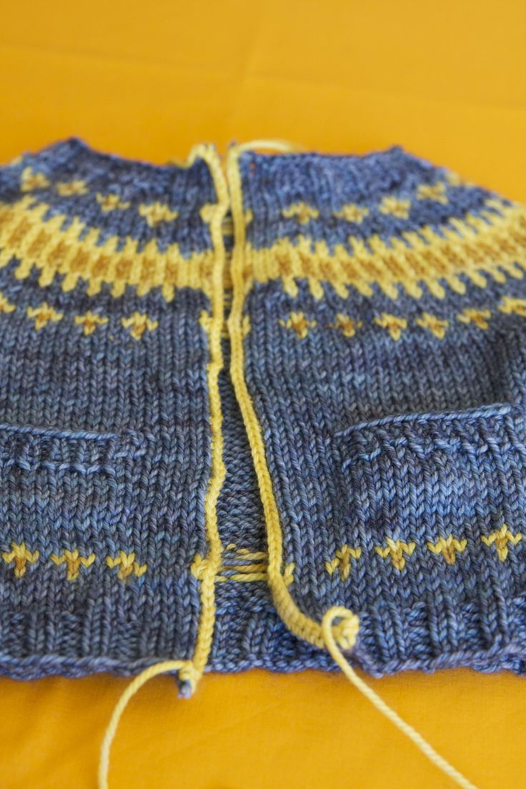 You now have one steeked sweater, congratulations!