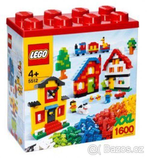 Kompletní Creator LEGO XXL Box 1600 ks, č. 5512 - 1