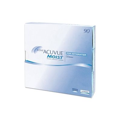 1 Day Acuvue Moist for Astigmatism 90 Pack Contact Lenses #Johnson&Johnson #Acuvue #ContactLenses #Lenses #Astigmatism #moist