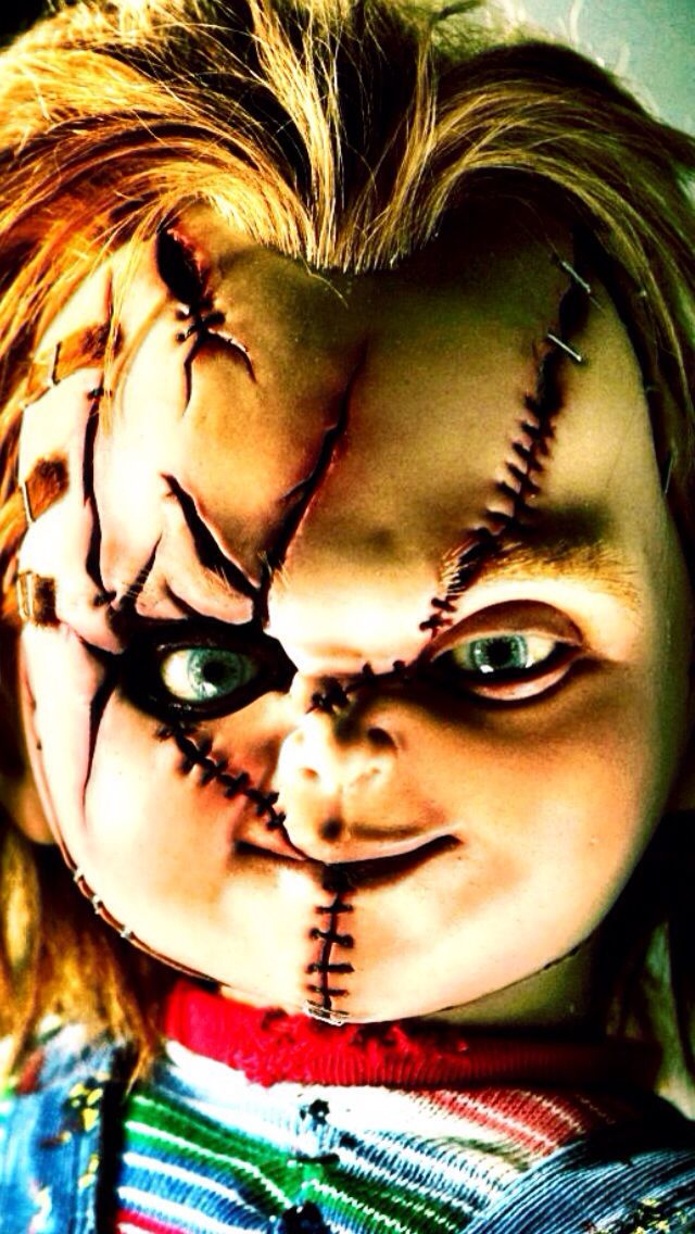 Creepy halloween iphone wallpaper background chucky and - Scary wallpaper iphone ...