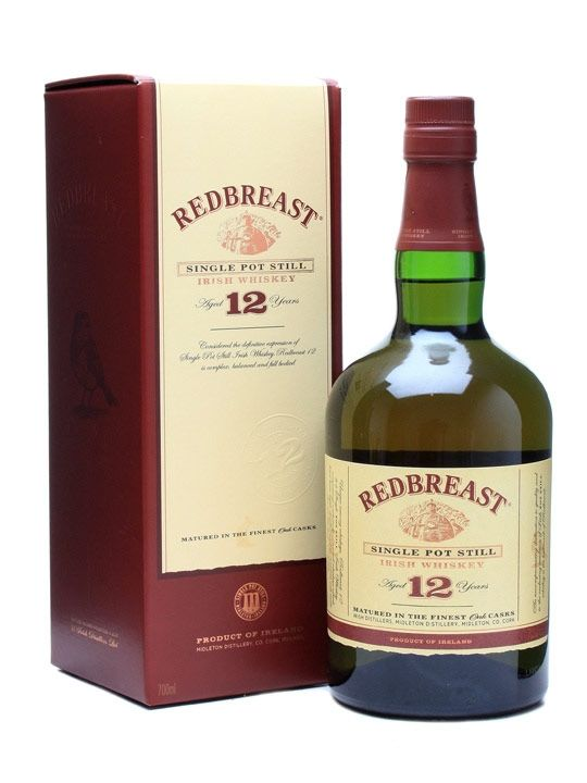 Redbreast 12 is a beautifully balanced single pot still Irish whiskey, which many connoisseurs consider one of the finest Irish whiskey available. ||  Redbreast 12 Year Old