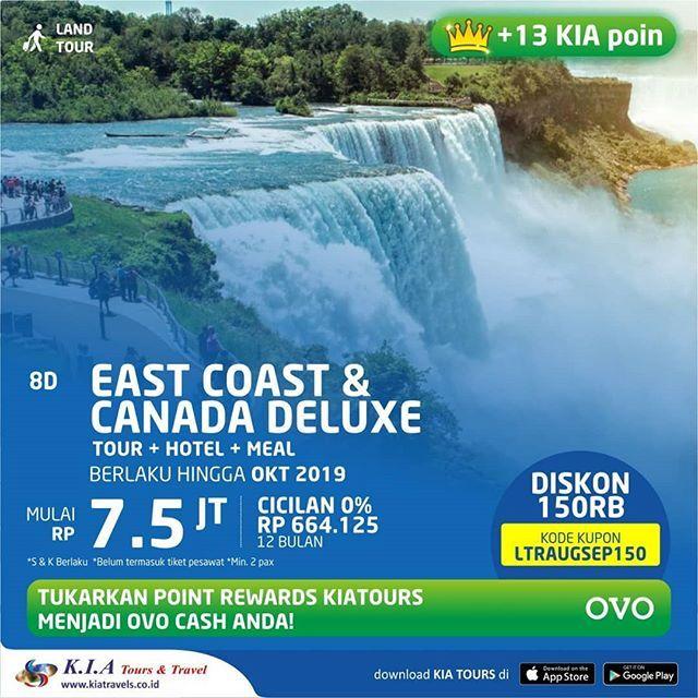 Sudah Beli Tiket Pesawat Tetapi Belum Ada Tour Program Dan Akomodasi Pilihan Tepat Adalah Land Sudah Beli Tiket Pesa Tours Natural Landmarks Niagara Falls