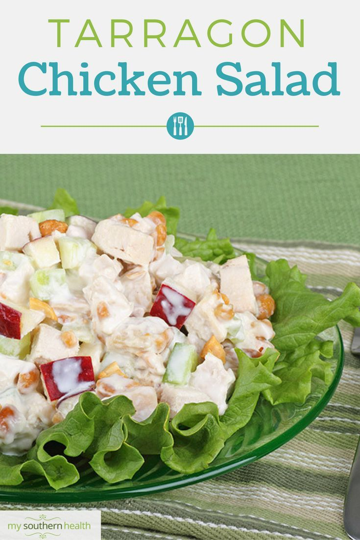 25+ best ideas about Tarragon chicken salads on Pinterest ...