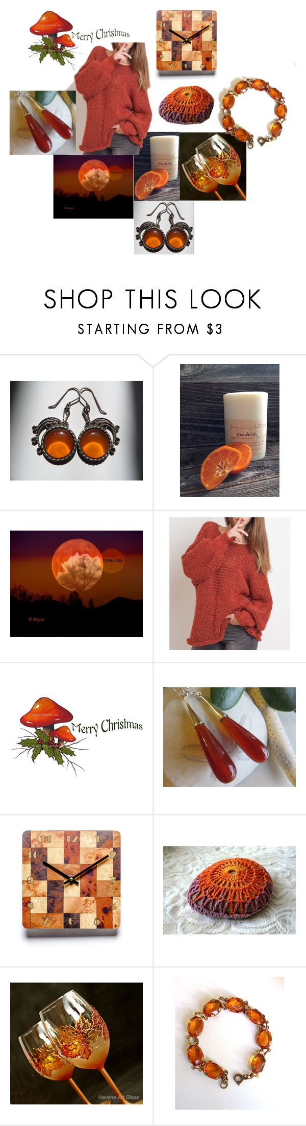 """Christmas Secrets"" by inspiredbyten ❤ liked on Polyvore featuring vintage"