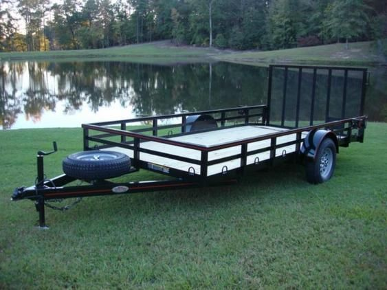 6 5ft X 14ft Deluxe Utility Amp Landscape Trailer W