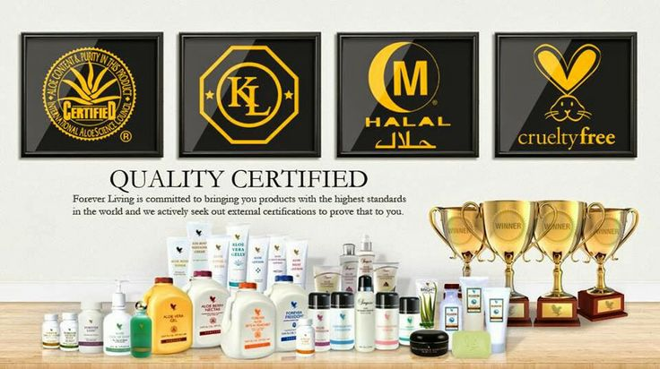 Forever living products are halal and kosher certified. We also have the aloe vera sign of approval because we have such a high content of aloe and do not test on animals. More https://www.foreverliving.com/retail/entry/Shop.do?store=USA&language=en&distribID=234001481952