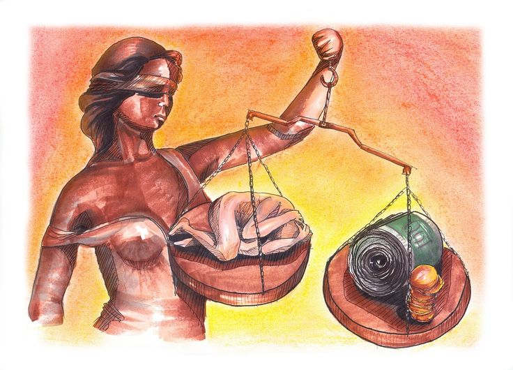 #justice #illustration #pastels #markers