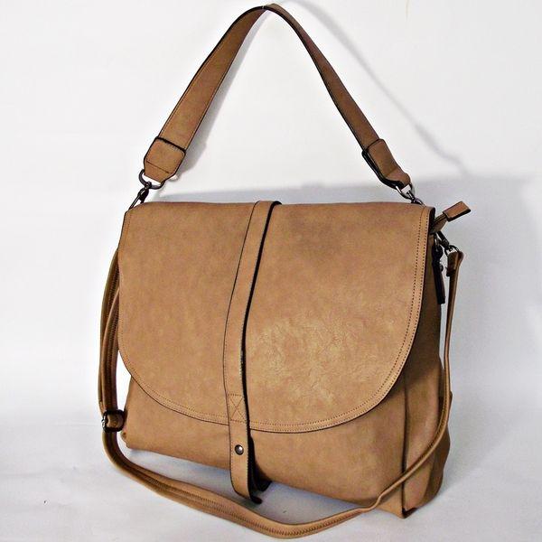 Duża torba z ekoskóry 3 w Fiżka hand made  na DaWanda.com