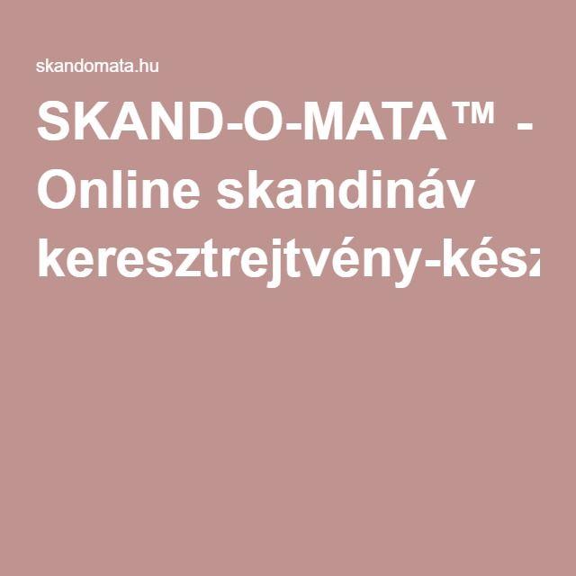 SKAND-O-MATA™ - Online skandináv keresztrejtvény-készítő