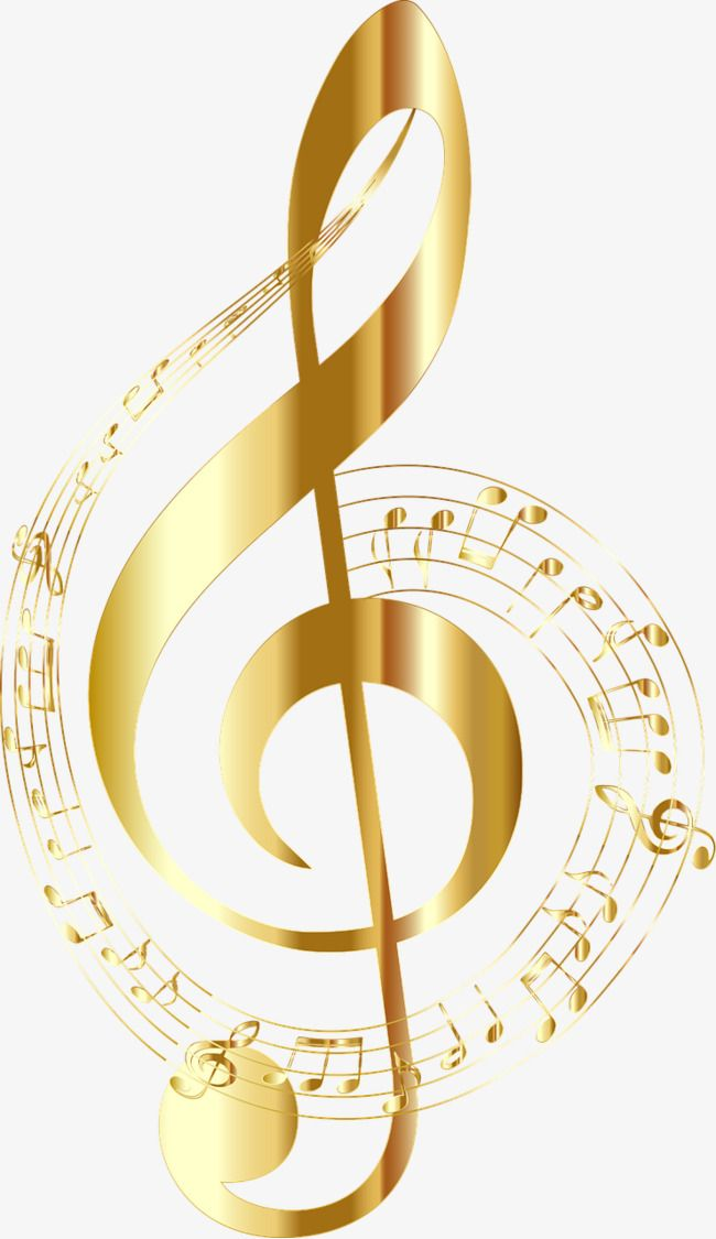 Golden Note Png And Clipart Music Notes Art Music Clipart Music Notes