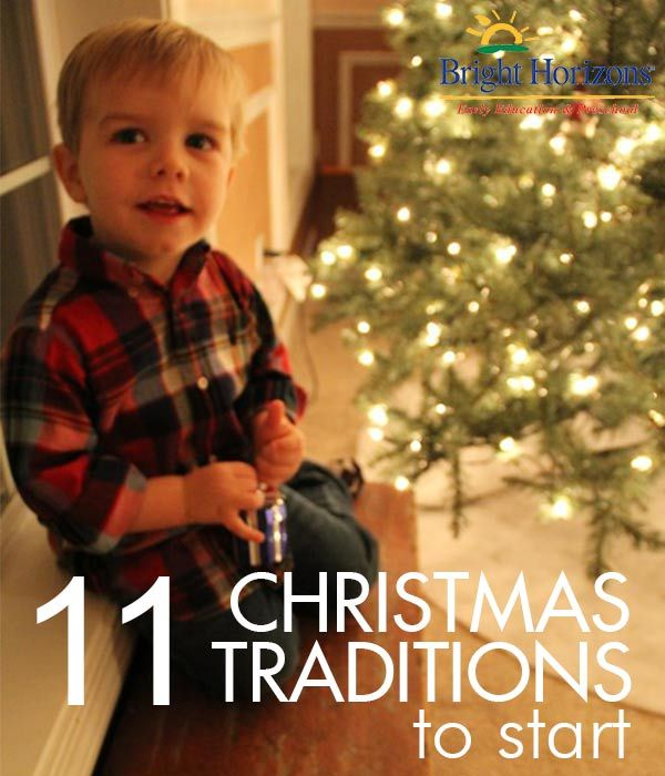11 Christmas / Holiday Traditions to Start