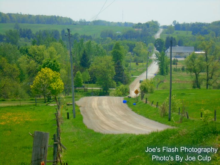 The Rolling Hills of Goods Road in Stirling-Rawdon Ontario