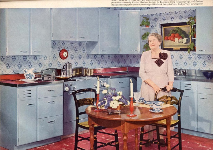 1950s flair magazine vintage home decor cooking 50s for Home decor 1950s
